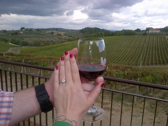 Tuscan Wine Tours - Day Tours: Proposal at Casa Emma during Tuscan Wine Tour
