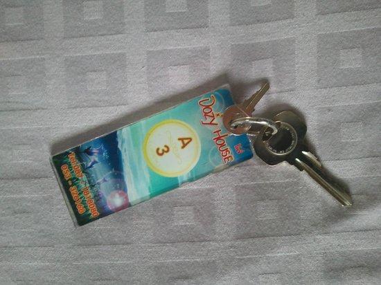 Dozy House: room key