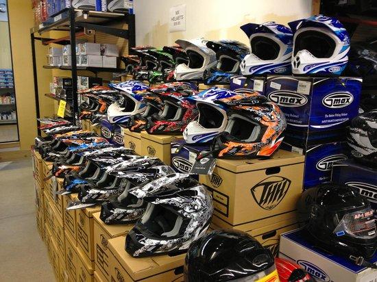 Southworks: Huge selection of helmets