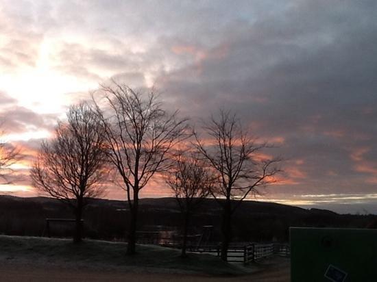 Bay Horse, UK: November sunrise