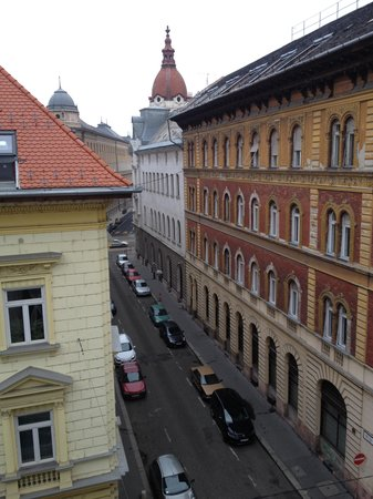 Hotel Parlament: view from room