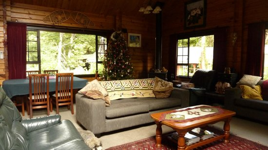 St Arnaud House B&B: Christmas 2013 Lounge