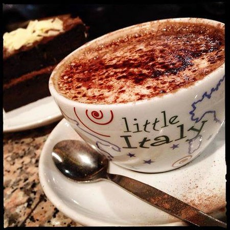 Coffee & cake at Little Italy