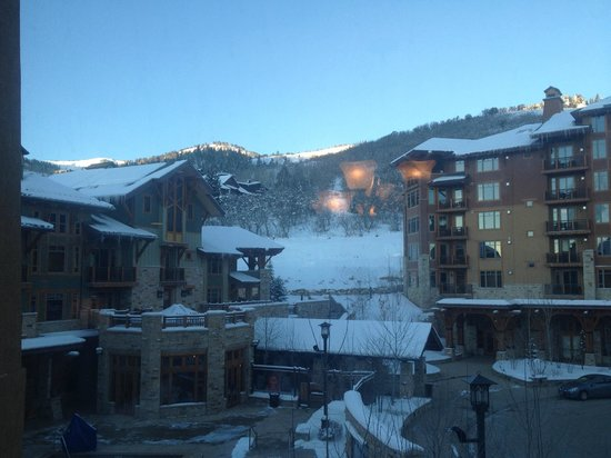 Hyatt Centric Park City : View from Room 363B