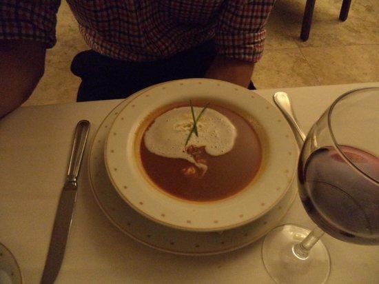 Hyatt Ziva Los Cabos: Soup at french resto
