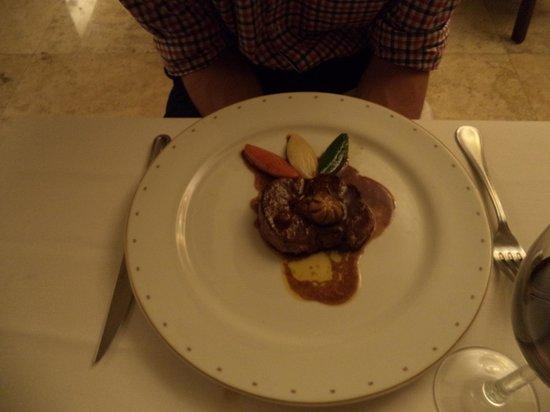 Hyatt Ziva Los Cabos: Steak at French Resto