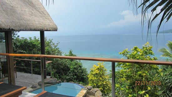 Royal Davui Island Resort : My Bure, own plunge pool
