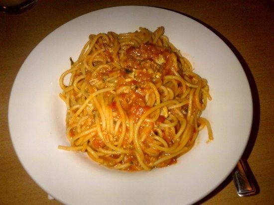Arlecchino: Spaghetti Vongole