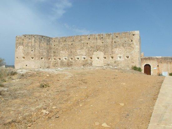 Ancient Aptera: O Castelo Turco em Aptera.