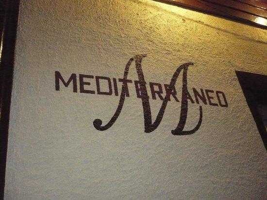 El Mediterraneo: Restaurant from outside