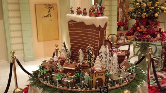 The Buffet at Wynn: Christmas decoration