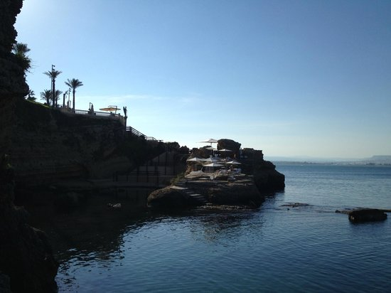 Grand Hotel Minareto: Rocky Beach area