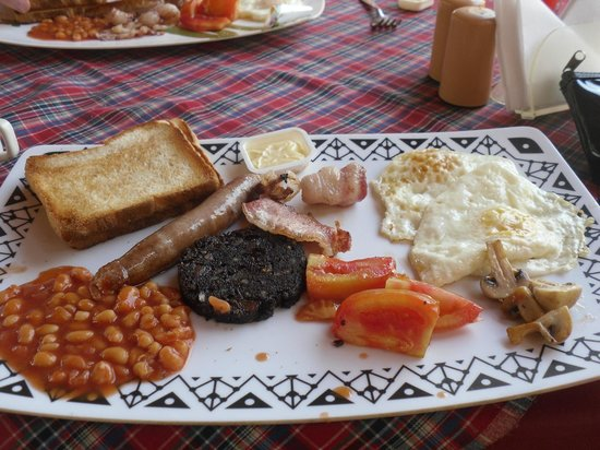 Maggies Guest House: the breakfast