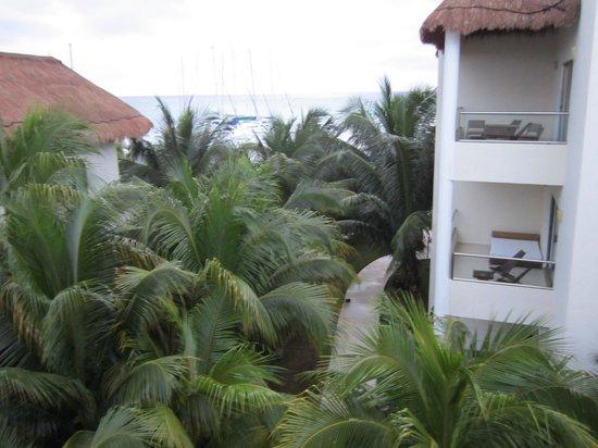 El Dorado Maroma, by Karisma : View from the bedroom balcony in Room 1121