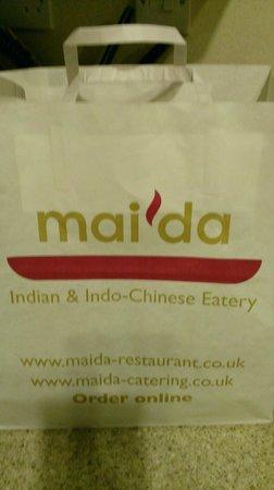 Maida: Even managed a 'doggie bag'