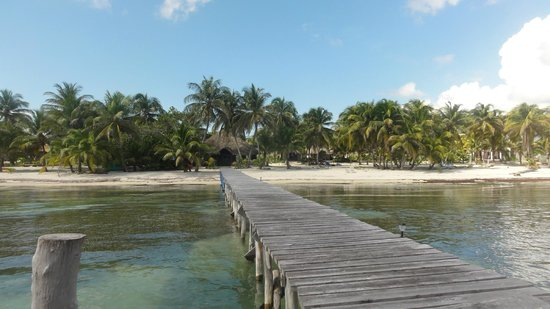 Playa Sonrisa: from the dock