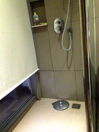 Novotel Banjarmasin Airport: Shower head that fell off