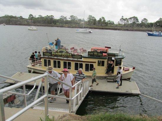 Burnett River Cruises - Day River Cruises: Bundy Belle river boat