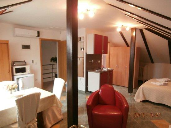 House Klaudija: studio apartment attic