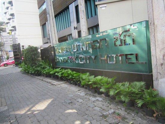 Bangkok City Hotel : Hotel front
