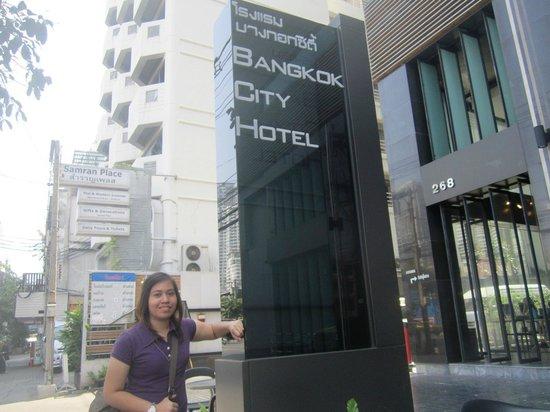 Bangkok City Hotel : Just arrived in BKK