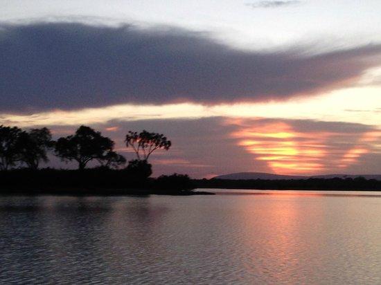 Sunset at Siwandu.