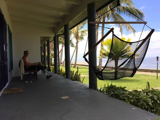 Fiji Hideaway Resort & Spa: Our Porch