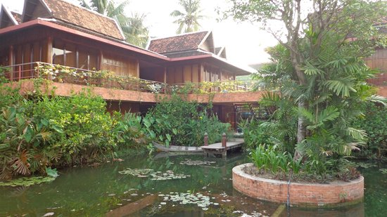 Angkor Village Hotel: view of our room #11 from outside restuarant