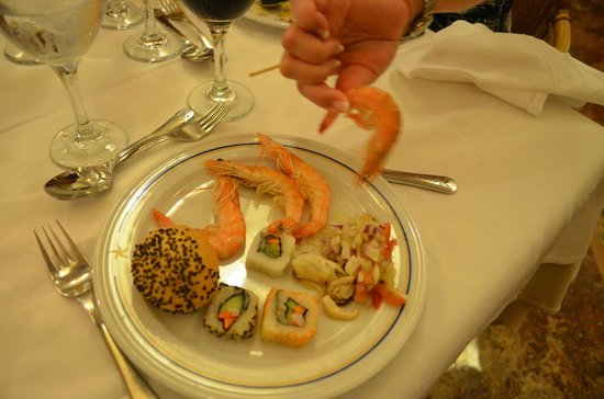 Iberostar Paraiso Maya: crevette au buffet