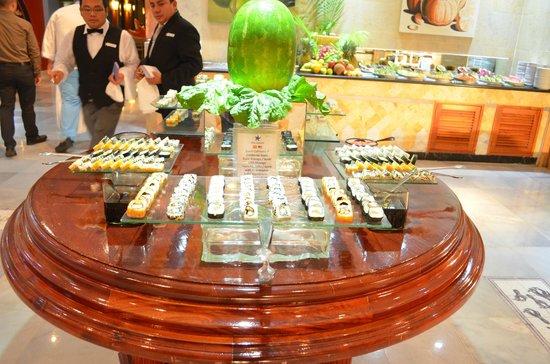 Iberostar Paraiso Maya: sushi