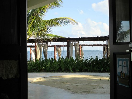 Desire Riviera Maya Resort : View from our bed