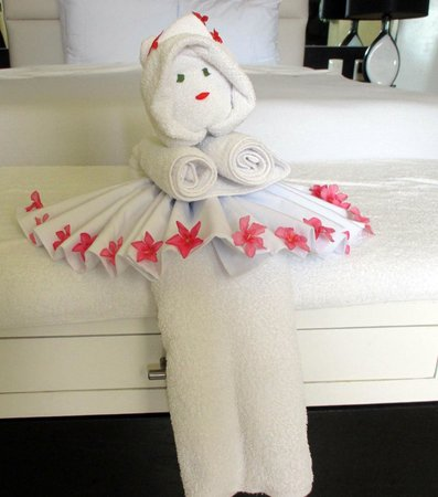 Desire Riviera Maya Resort : Towel friend