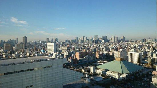 Dai-ichi Hotel Ryogoku : Great city view