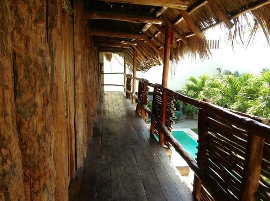 Hostel el Meson de Tulum: soppalco