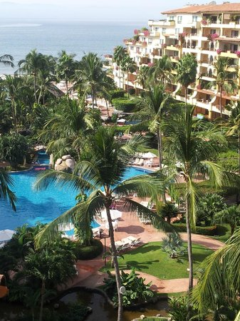 Velas Vallarta: View from the balcony, room 2814