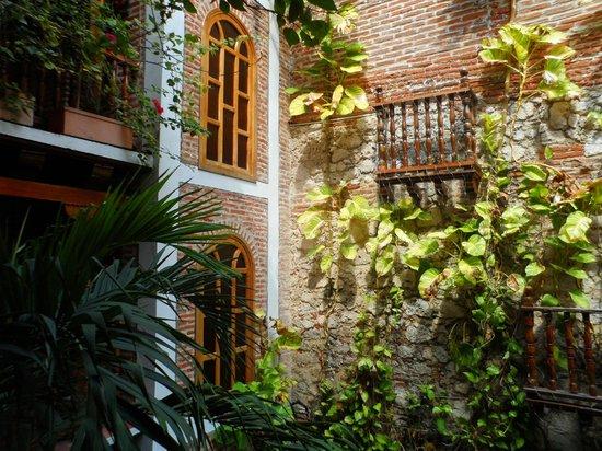 Hotel Don Pedro de Heredia : zona común... el hotel es lindo