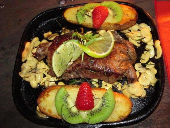 Restaurante La Luna: Comida maravilhosa!
