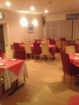 Madiha: In side restaurant