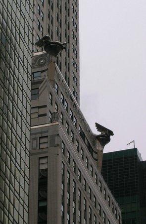 Chrysler Building: Particolare dei doccioni