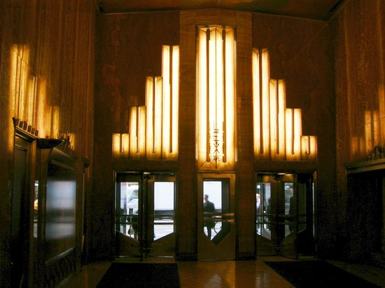 Chrysler Building: Uscita su Lexington Av.