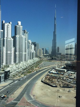 The Oberoi, Dubai: View from our bedroom window