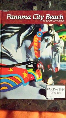 Holiday Inn Resort Panama City Beach: in room book