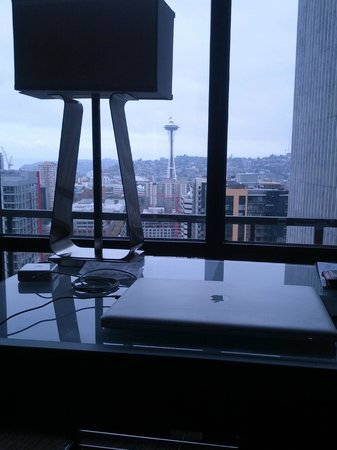 The Westin Seattle: View from Desk