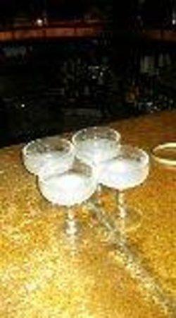 ME Cancun : shots..rose bar excellent
