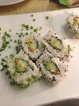 SAUCE Hostal: Sushi