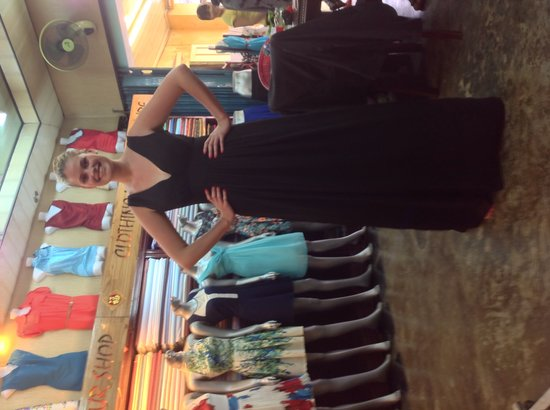 Super Model in Tailor Phuong Nam!