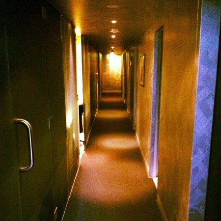 Adelphi Hotel : The closed spa ready for refurbishment