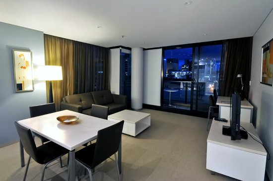 One Bedroom Deluxe - Living Room - Picture of La Loft Apartments ...
