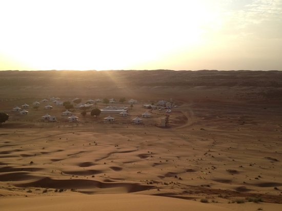 Desert Nights Camp: View of camp