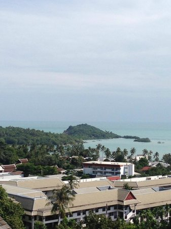 KC Resort & Over Water Villas: View from our first floor room (108)